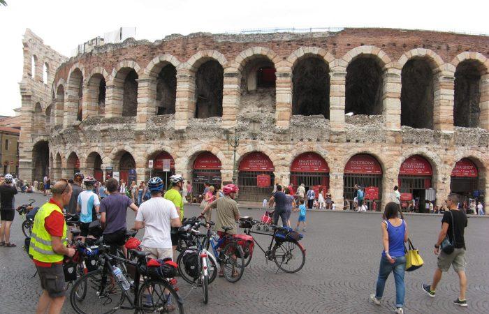 Über die Alpen nach Venedig Verona 2