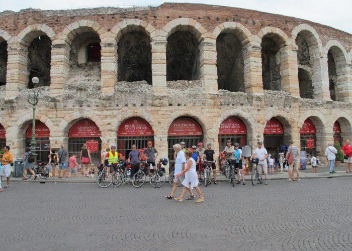 Über die Alpen nach Venedig Verona